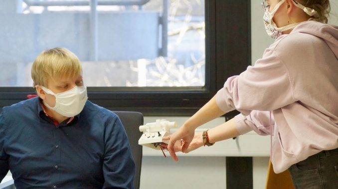 Zusatzgerät für ein CPAP-Gerät