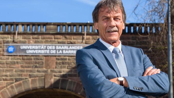 Universitätspräsident Saarland Manfred Schmitt