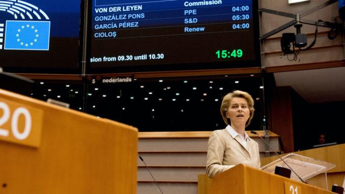 Präsidentin der Europäischen Kommission Ursula von der Leyen