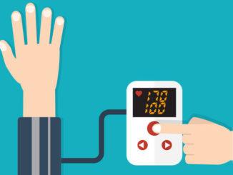 Illustration Blutdruckmessung