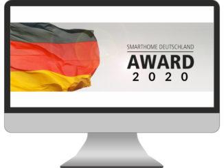 PC-Bildschirm mit Award-Logo