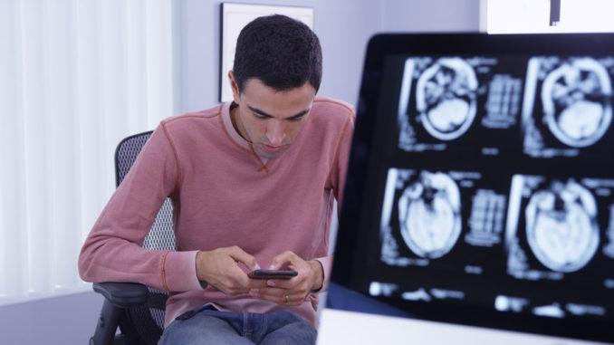 Patient sendet Text-Message