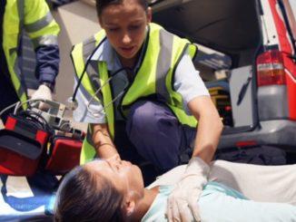 Notfallmediziner im Einsatz