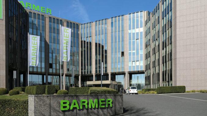 Außenansicht: Hauptverwaltung der Barmer in Wuppertal