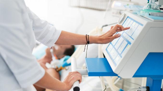 Medizintechnik im Krankenzimmer