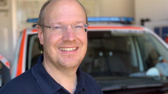 Notfallmediziner Dr. Thorsten Klüsener
