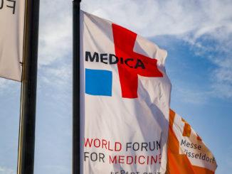 Medica-Messefahnen