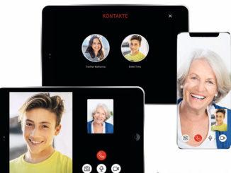 Tablet-Lösung für Videotelefonie