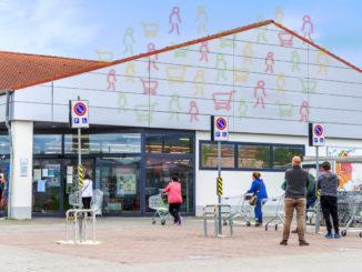Supermarkteingang