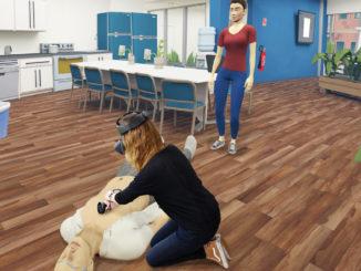 """Defibrillator-Schulung mit """"sam-VR"""""""