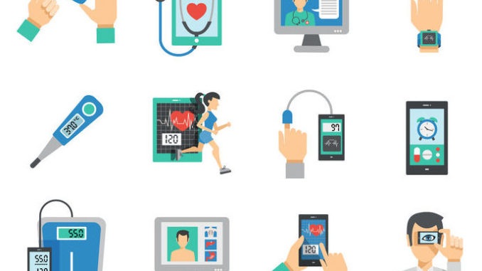 Digital Health Icons