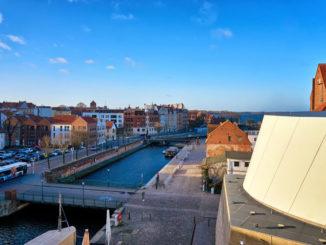 Blick auf die Stralsunder Altstadt