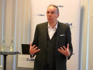 BVMed-Geschäftsführer Dr. Marc-Pierre Möll