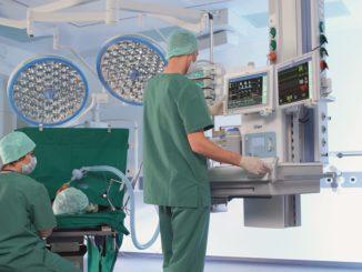 Einsatz von Medizintechnik in OP