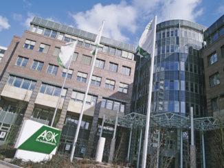 AOK-Verwaltungsgebäude in Hamburg-Wandsbek