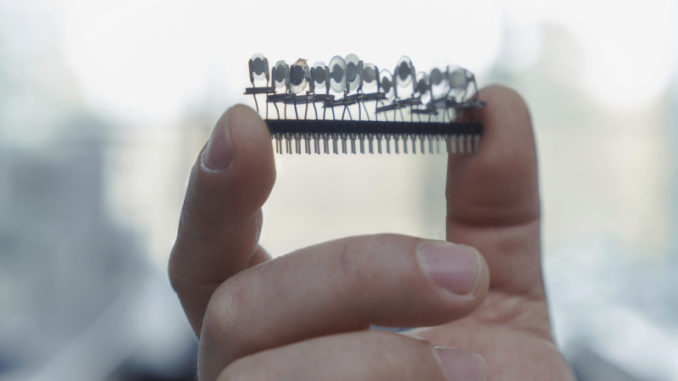 Sensoren der elektronischen Nase