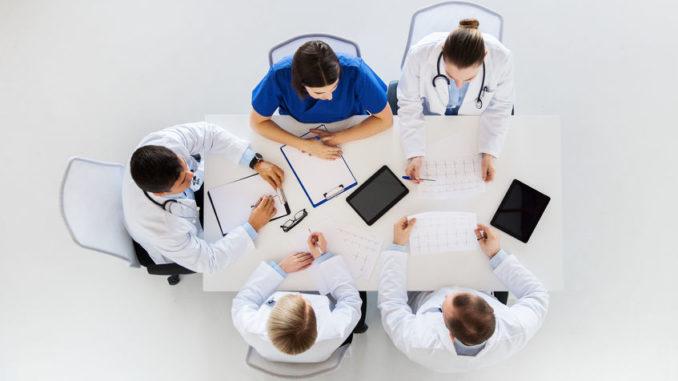 Mediziner-Team