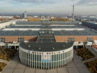 Berliner Messegelände von oben