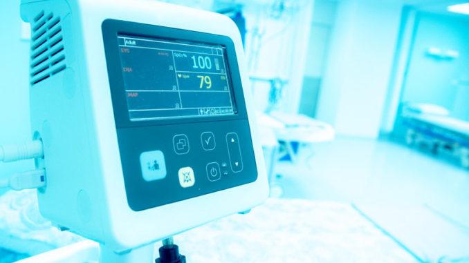Modern ausgestattetes Krankenhaus