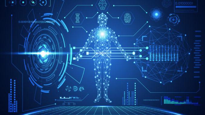 Künstliche Intelligenz hält Einzug in die stationäre Gesundheitsversorgung (Grafik: Kotexvector/123rf.com).