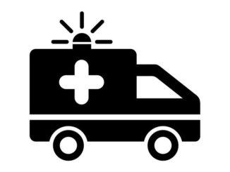 Symbolgrafik Krankenwagen
