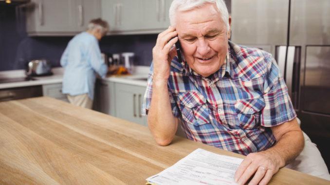 Senioren in der eigenen Küche