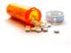 Verschreibungspflichtiges Schmerzmittel (Detailaufnahme)