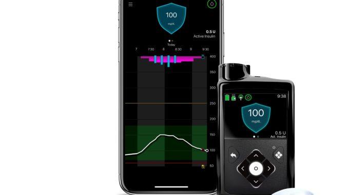 MiniMed 780G System mit Bluetooth-Schnittstelle